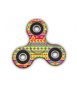 Fidget Spinner - Yellow Frenzy