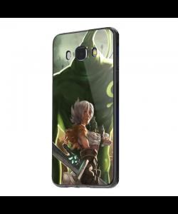 League of Legends Zac - Samsung Galaxy J5 2017 Carcasa Silicon