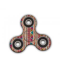 Fidget Spinner - Zig-Zag Carpet