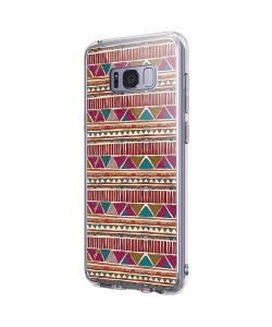 Zig-Zag Carpet - Samsung Galaxy S8 Carcasa Premium Silicon