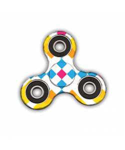 Fidget Spinner - Zoom in Pastel